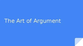 The Art of Argument - Calkins 7th Grade - Bend 1