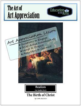 The Art of Art Appreciation - Bloch The Birth of Christ