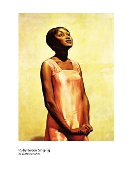 The Art of Art Appreciation - Chapin Ruby Green Singing