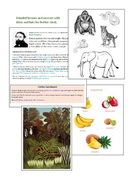The Art of Art Appreciation - Complete packet of lessons