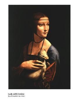 The Art of Art Appreciation - Da Vinci Lady with Ermine