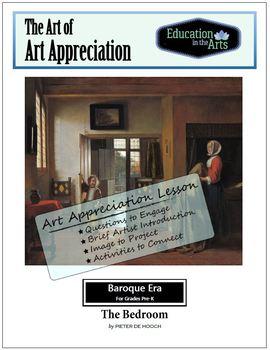 The Art of Art Appreciation - De Hooch The Bedroom