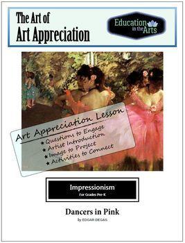 The Art of Art Appreciation - Degas Dancers in Pink