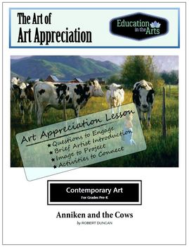 Duncan Anniken and the Cows Contemporary Art