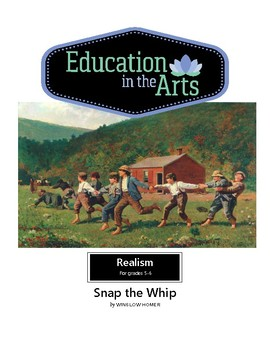 The Art of Art Appreciation - Homer Snap the Whip