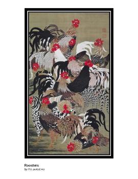 The Art of Art Appreciation - Jakuchu Roosters
