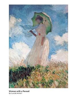 The Art of Art Appreciation - Monet Woman with a Parasol
