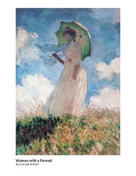 Monet Woman with a Parasol Impressionism