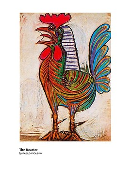 Picasso The Roaster Expressionism