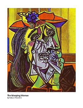 Picasso The Weeping Woman Cubism