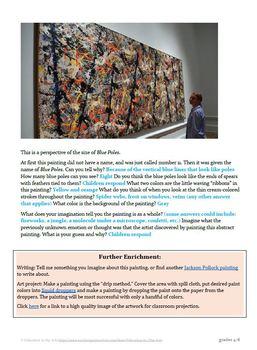 The Art of Art Appreciation - Pollock Blue Poles