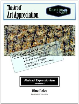Pollock Blue Poles Abstract Expressionism