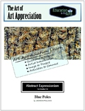 The Art of Art Appreciation - Pollock Blue Poles