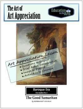 Rembrandt The Good Samaritan Baroque Era