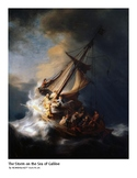 The Art of Art Appreciation - Rembrandt The Storm on the S