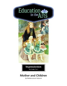Renoir Mother and Children Impressionism