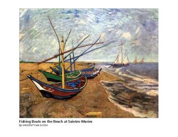 The Art of Art Appreciation - Van Gogh Fishing boats on the Beach