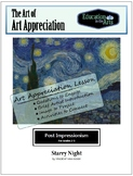Van Gogh Starry Night Post Impressionism