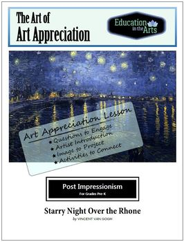 The Art of Art Appreciation - Van Gogh Starry Night Over the Rhone