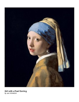 Vermeer Girl with a Pearl Earring Baroque Era