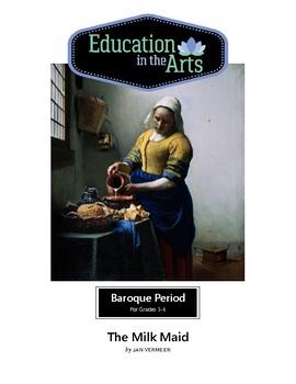 Vermeer The Milkmaid Baroque Era