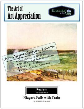 The Art of Art Appreciation - Whale Niagara Falls with Train