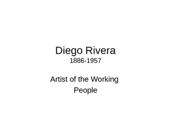 The Art of Diego Rivera