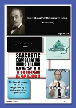 The Art of Exaggeration