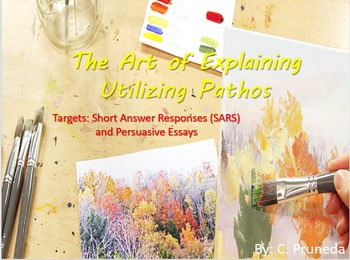 The Art of Explaining Utilizing Pathos