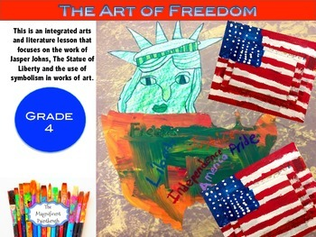 Literature and Art Integration Lesson: The Art of Freedom