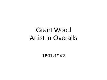 The Art of Grant Wood