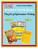 The Art of Information Writing Grade 3 Unit 2 Lesson Plan Bundle
