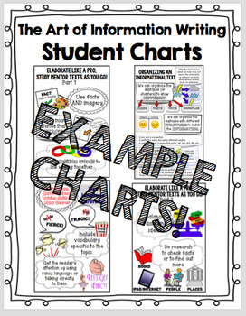 The Art of Information Writing - Lucy Calkins Student Charts Writing