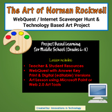 The Art of Norman Rockwell – WebQuest / Internet Scavenger Hunt & Art Project