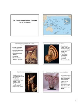The Art of Oceania Notes