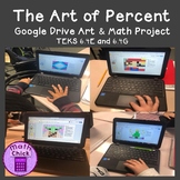 The Art of Percent - Convert Fractions, Decimals and Percent Google Math and Art