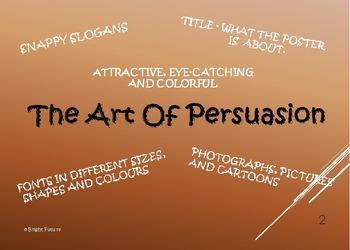 The Art of Persuasion- Persuasive Writing Tutorials,Models & Tasks