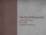 The Art of Persuasion powerpoint