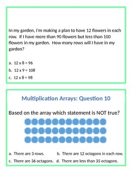 The Art of Problem Solving Multiplication (Question Set A)