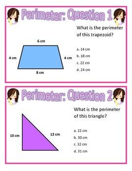 The Art of Problem Solving Perimeter (Question Set A)