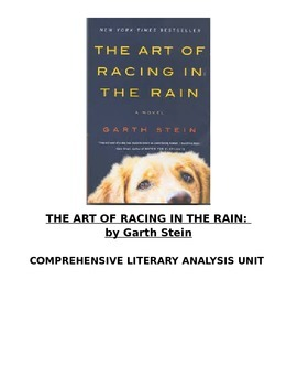 The Art of Racing in the Rain Literature Unit