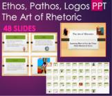 The Art of Rhetoric - Ethos, Pathos, Logos PPT