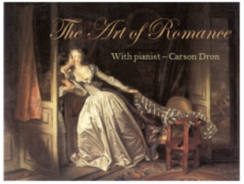 The Art of Romance - a collection of beautiful, romantic piano masterworks