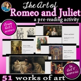 Romeo and Juliet Pre-Reading Art Tour