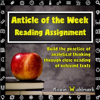 The Article of the Week Reading Assignment