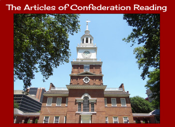 The Articles of Confederation Reading