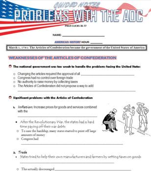 The Articles of Confederation + Constitution (US History) Prezi