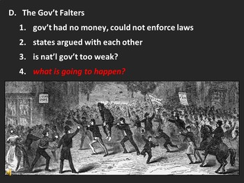 The Articles of Confederation (PPT)