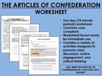 The Articles of Confederation - US History/APUSH Common Core