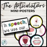 The Articulators / Speech Helpers - Mini Posters for Speech